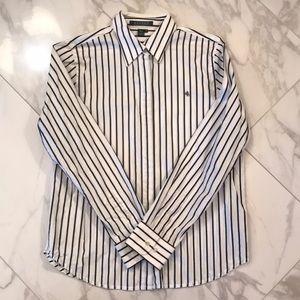 Stripe button-down shirt